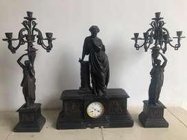Dijual Jam Marmer Lilin Antik