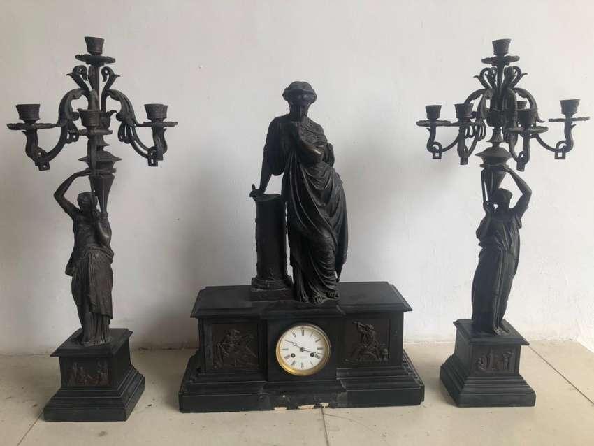 Dijual Jam Marmer Lilin Antik 0