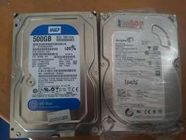 Harddisk 500GB Seken Ori bukan Refurbish