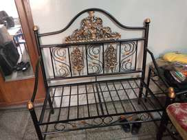 Wrought Iron Sofa Set with 3 tables and dressing table set