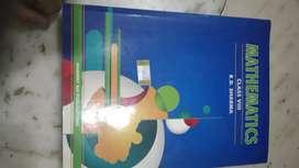 Class 8th cbse rd Sharma mathematics -just like new