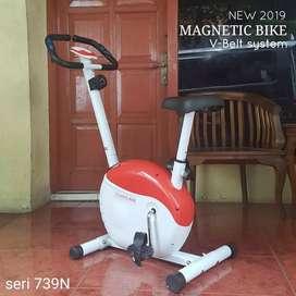 penunjang sehat siap antar GRATIS/mangnetic bike 6307  sepeda statis