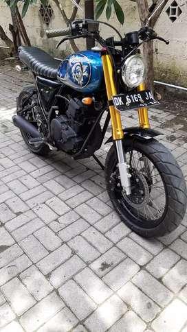 Yamaha scorpio 225cc custome japstyle