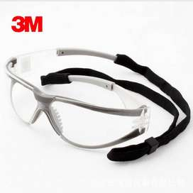 3M Kacamata Safety Googles Anti Fog Dust