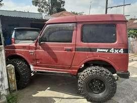 Jimny 4×4 merah mantap tt atoz