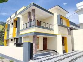 Pothencodu 5cent 4bhk 1700sqft new posh house bypass 300meter