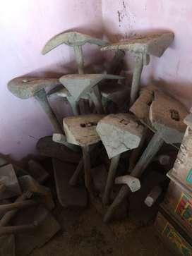Cangkul kayu jati