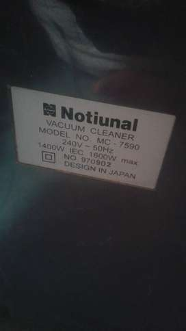 National vacuum cleaner made in japan,good n running condition,fine.