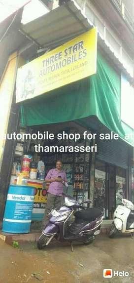 Automobile shop for sale