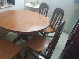 Pure take wood dining table
