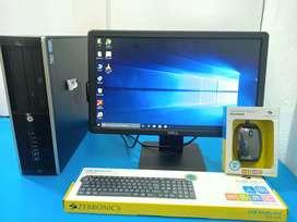 Hp Brand :- i3 Pro Desktop - FullSet Of System