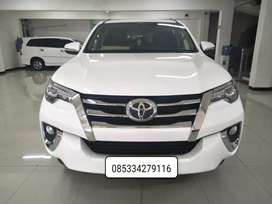 Toyota Fortuner 2.4 VRZ diesel automatic/at 2017 kondisi mulus