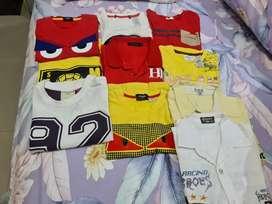 Baju kaos dan kemeja anak laki laki