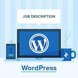 Need experience wordpress developer based in Ahmedabad preferred!