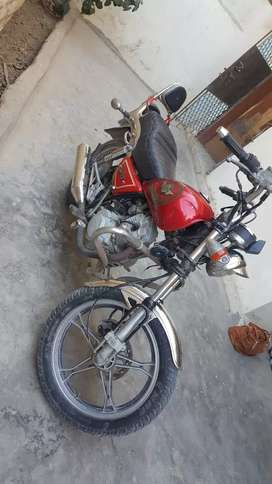 Hero chopper 2005 full modified harley davidson shape only 130000/=