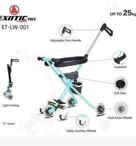 Stroller exotic ready ada warna PINK,HITAM dan BIRU 320rb