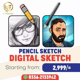 Digital sketches available
