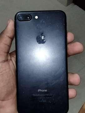 Iphone 7 plus : 128gb : battery :100%