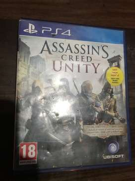 Assassin's creed unity Ps4- Rs:1800