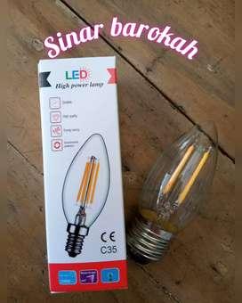 Lampu LED Filament Candle/Lampu LED Bulb Edison Filament/Retro/Classic