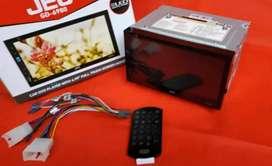 HU JEC gd 6980, layar fullglass LED, mirrorlink, dvd ,kamera+pasang