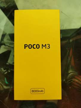 Poco M3 4Gb Ram 128Gb Rom power black colour