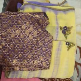 Brand new saree with blouse..