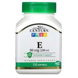 Century 21 Vitamin E 90mg 200 IU antioxidant 110 softgels
