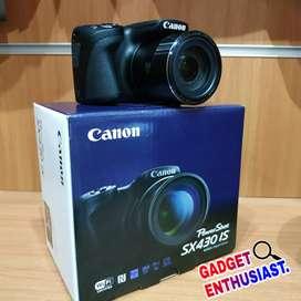 Canon Powershot SX430 IS Garansi Resmi Bisa Cicilan DP 0 Tanpa CC