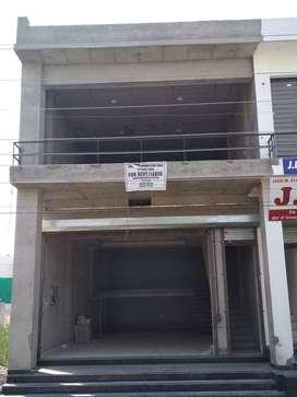 2 floors showroom for rent. Each floor may be rented separately.