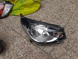 Mitsubishi ek wagon black chrome headlight