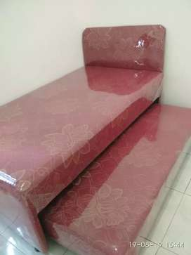 Kasur springbd Sorong merah