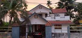 A two storied house in very good locality near sbi bank ezhinjillam