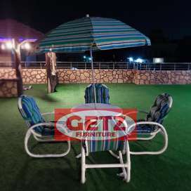 Garden chair and outdoor PVC chair