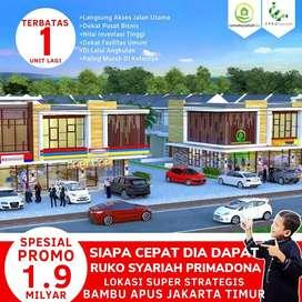 Tersisa 1 Unit Lagi RUKO Khusus Muslim di Lokasi Super Primadona