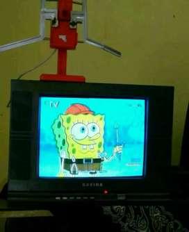 "Tv 15"" normal lancar jaya"