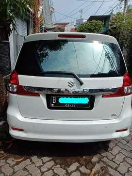 Suzuki Ertiga GL putih pemakaian 2017