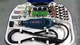 BITEC SGM 3000 Mini Die Grinder Set 95 Pcs Tuner Gerinda Bor Botol