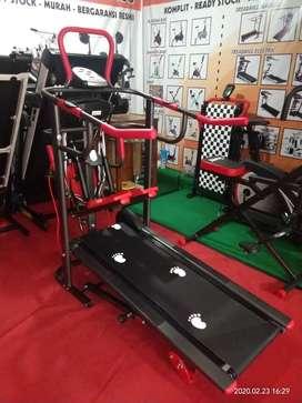 Alat fitness murah // treadmill manual 6F TL004 AG bc 4uw2