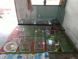 Aquarium baru full 5mm 100*40*45 kaca asahimas