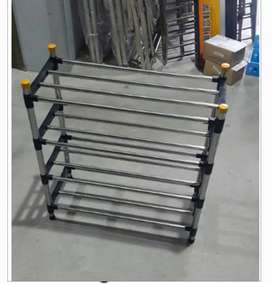 Stainless Steel Shoe Rack 4 Tier With Joint
