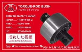 Torque Rod Rubber Bushing Truck Hino, Isuzu, Nissan UD, Fuso