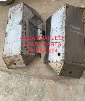Front fender for jeep
