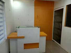 Fully Furnished AC office space for rent near Vytilla