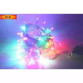 Garland Lampu Hias String 100 LED 220V 10 Meters EU Plug - RP0494