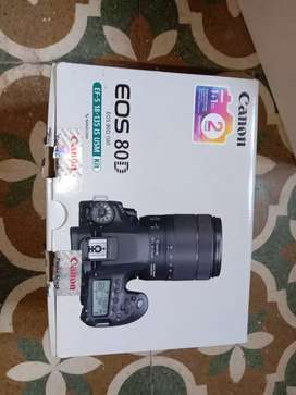 Canon 80d with 18-135 mm and 50mm Lens only 7 month use