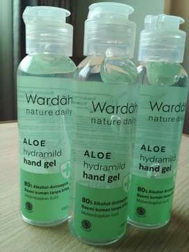 Wardah Aloe Hand Gel Basmi Kuman tanpa bilas