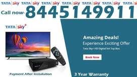 33% Off- Tata Sky DTH DishTV Tatasky Dish Videocon Airtel D2H -COD