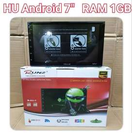 Head Unit Android 7 Inch Runz | KIKIM Variasi