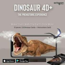 Augmented Reality Flashcards Dinosaur 4D+ Kartu AR Anak
